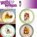 Image of 29: 4 Holly Hobbie Collector Plates