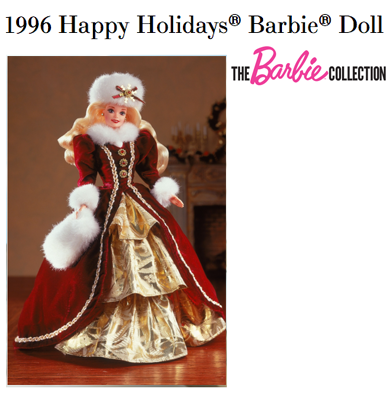 74: Happy Holidays 1996 Special Edition Barbie