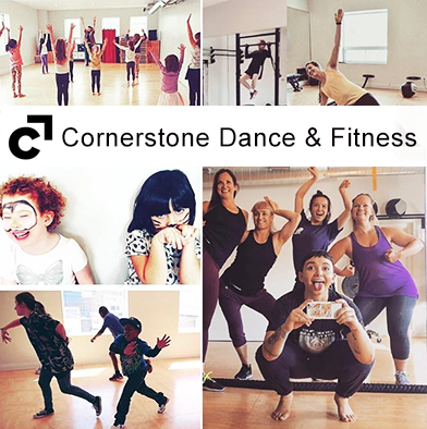 109: 5 classes Cornerstone Dance & Fitness
