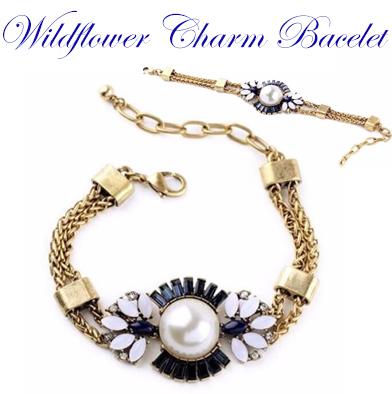 17: Wildflower Charm Bracelet