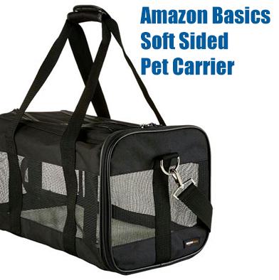 31: Amazon Basics Pet Carrier
