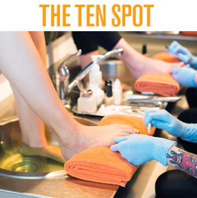 60: The Ten Spot (Beaches) Pedicure