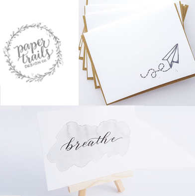 72: Paper Trails Cards & Calligraphy Print