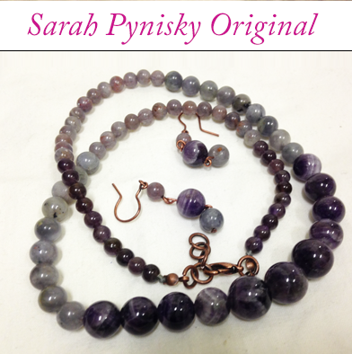 82: Necklace & Earrings - Sarah Pynisky