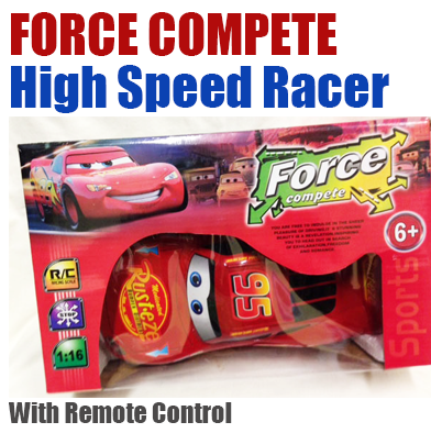 8: Force Compete RC High Speed Racer