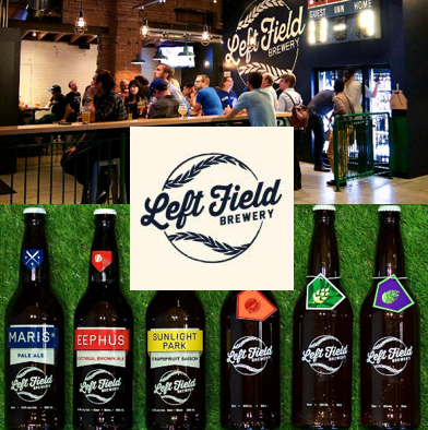 17: 2 passes to Left Field Brewery Tour