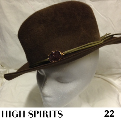 22: Hat by High Spirits