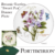 "2: Portmerion 10 inch Plate ""Sweet Pea"" Design"