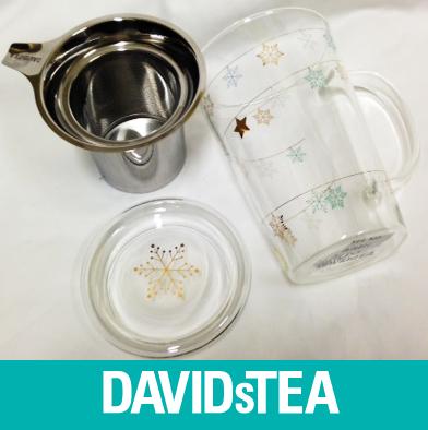 36: David's Tea - Infuser Mug