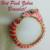 56: Ciner Vintage Hinged Zebra Bracelet