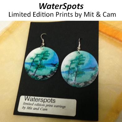 60: WaterSpots Earrings #3