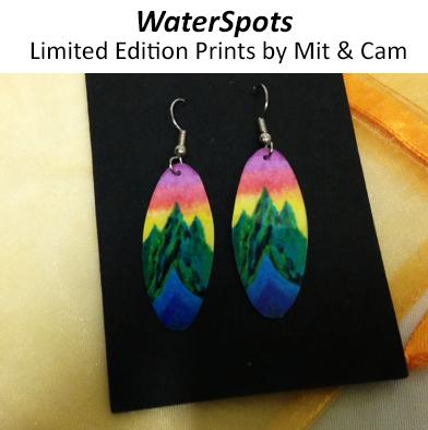 61: WaterSpots Earrings #4