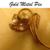 63: Vintage Gold Flower Pin