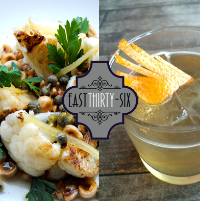 17: $50 Gift Card East Thirty-Six