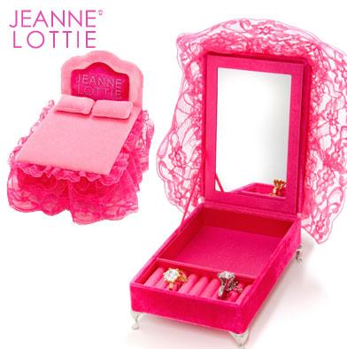 24: Jeanne Lottie Hot Pink Jewellery Box