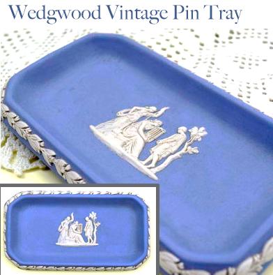 34: wedgwood Jasperware Pin Dish