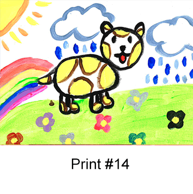 P14: Kid Print 14