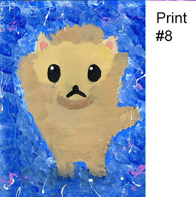 P8: Kid Print 8