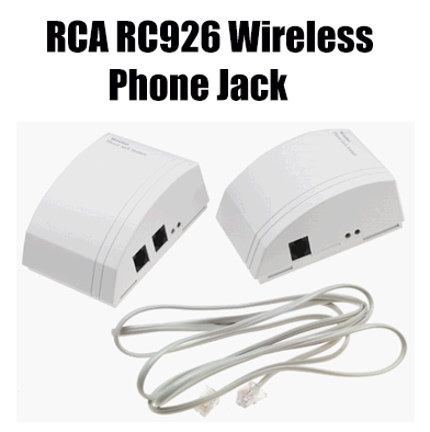 76: RC926 Wireless Phone Jack