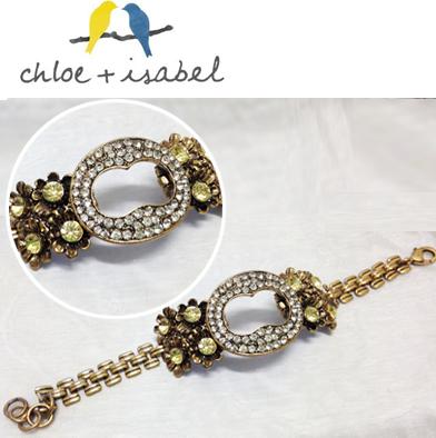 91: Chloe + Isabel Crystal Bracelet