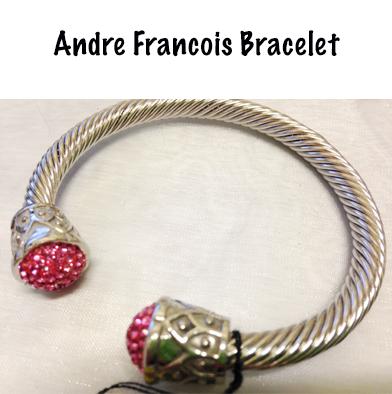 92: Andre Francois Heavy Silver Bangle