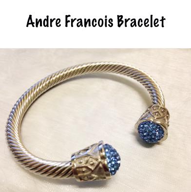 93: Andre Francois Heavy Silver Bracelet